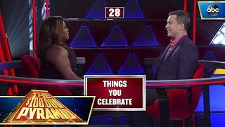 Sherri Shepherd Helps Contestant Win $50K - $100,000 Pyramid