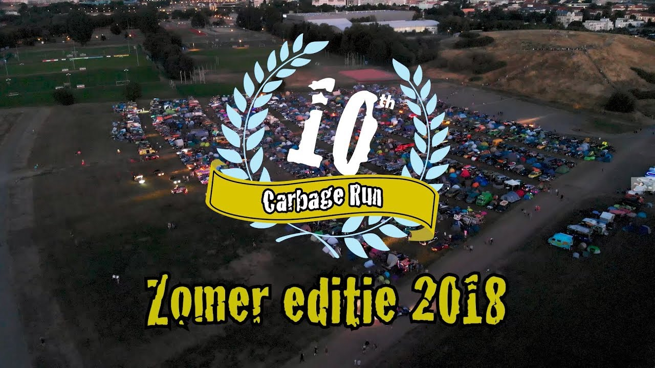 Carbage Run Zomer Editie 2018 Official Aftermovie Youtube