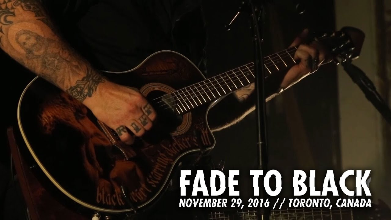 Metallica: Fade to Black (Toronto, Canada - November 29, 2016)