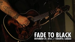 Metallica: Fade To Black (toronto, Canada   November 29, 2016)