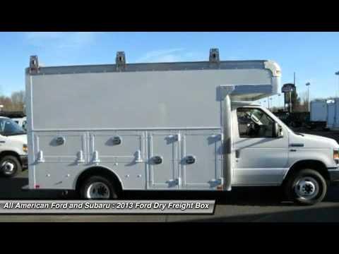 2013 Ford Dry Freight Box Truck E350 Old Bridge N 131999