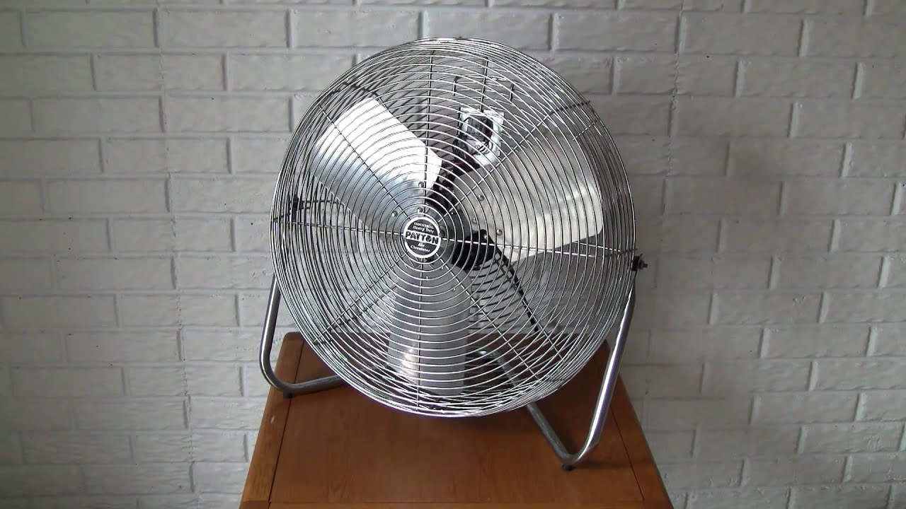 maxresdefault patton model u2 20 high velocity fan youtube Fan Wire Connection at n-0.co