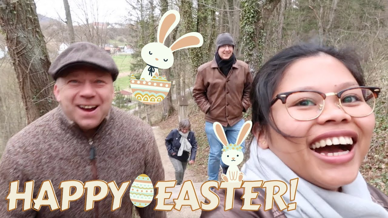 HAPPY EASTER♥️ 2021 EASTER CELEBRATION WITH IN-LAWS | PINAY-GERMAN LIFE IN GERMANY | LIEBE ANN♡