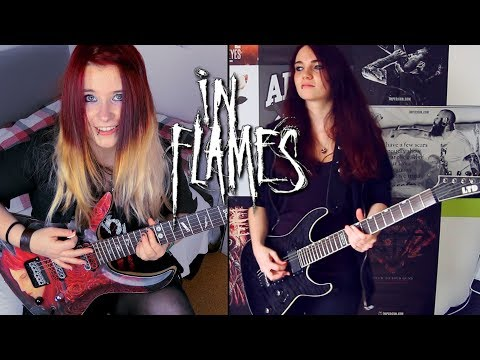 IN FLAMES - The Quiet Place [DUAL GUITAR COVER] | Jassy J & BulletVain