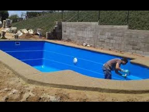 Como construir una piscina youtube for Como gunitar una piscina
