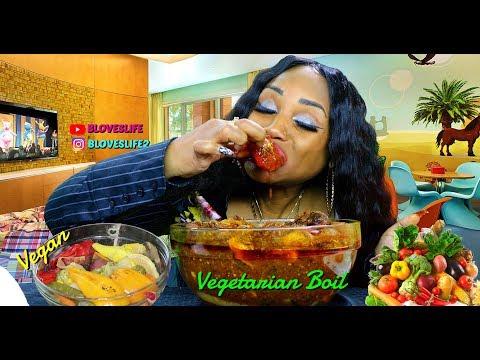 Vegan Boil in Vegetarian Smackalicious Sauce