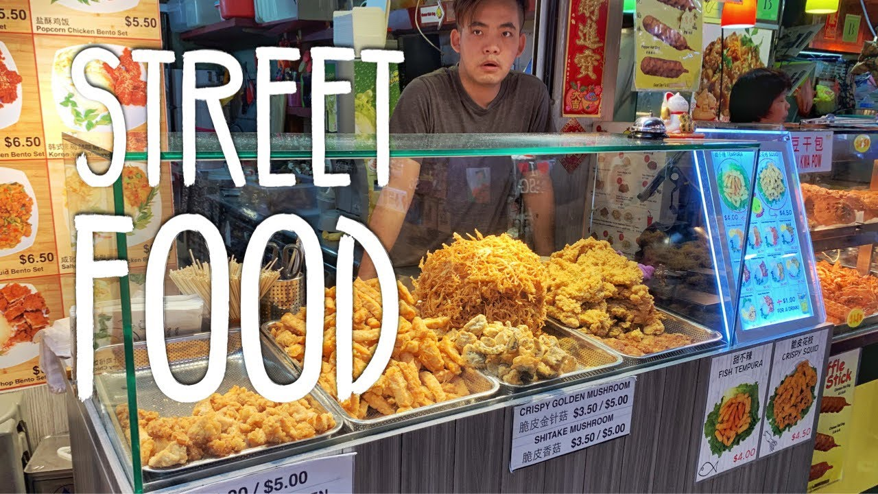 Singapore Street Food Tour Bugis Street Youtube