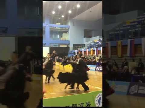 WDSF Taipei Open   台北國際公開賽2017.10.22  俄羅斯 Evgeny Nikitin & Anastasia Milyutina 快四步