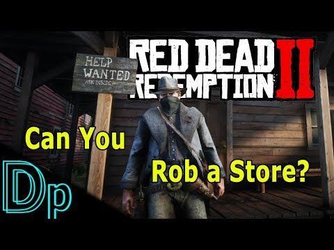 Can You Rob a STORE? Red Dead Redemption 2 thumbnail