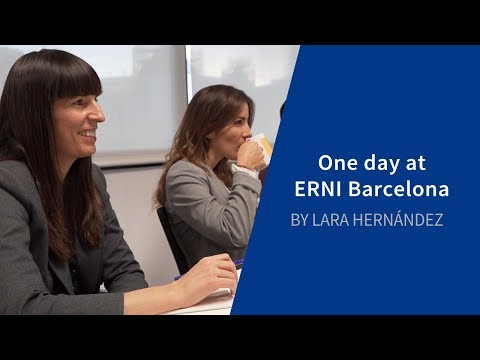 One day at ERNI Barcelona with Lara | ERNI | Swiss Software Engineering