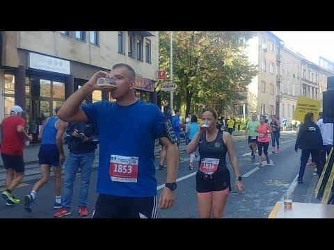 Only In Croatia Ozujsko Beer Point At Zagreb Marathon 2019 Xd Youtube