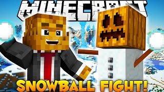 BRAND NEW Minecraft Snowball Fight (Holiday Special)