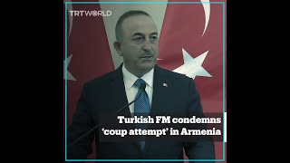 Turkey condemns coup attempt in Armenia