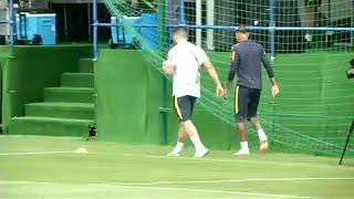 VB 2018: Neymar lebicegett az edzésről
