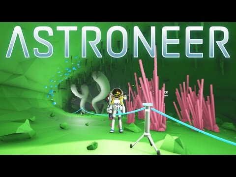 Get Astroneer - Ep 2 - Caving for Research Artifacts! - Let's Play Astroneer Gameplay Screenshots
