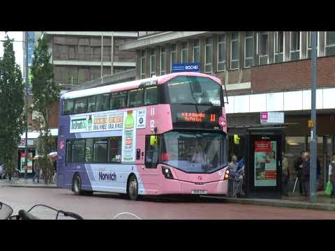 NORWICH BUS SCENE AUG 2017