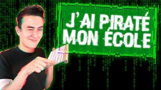 LE JOUR OU J'AI HACKÉ MON ÉCOLE (Hugoposay Anecdote)