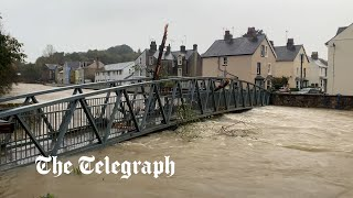 video: UK weather: Major flooding incident declared in Scotland as town is evacuated