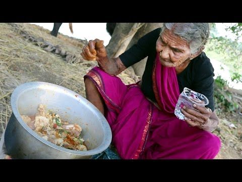 My 105 years Grandma's Village Style Chicken Curry | Chicken Recipe | Country Foods