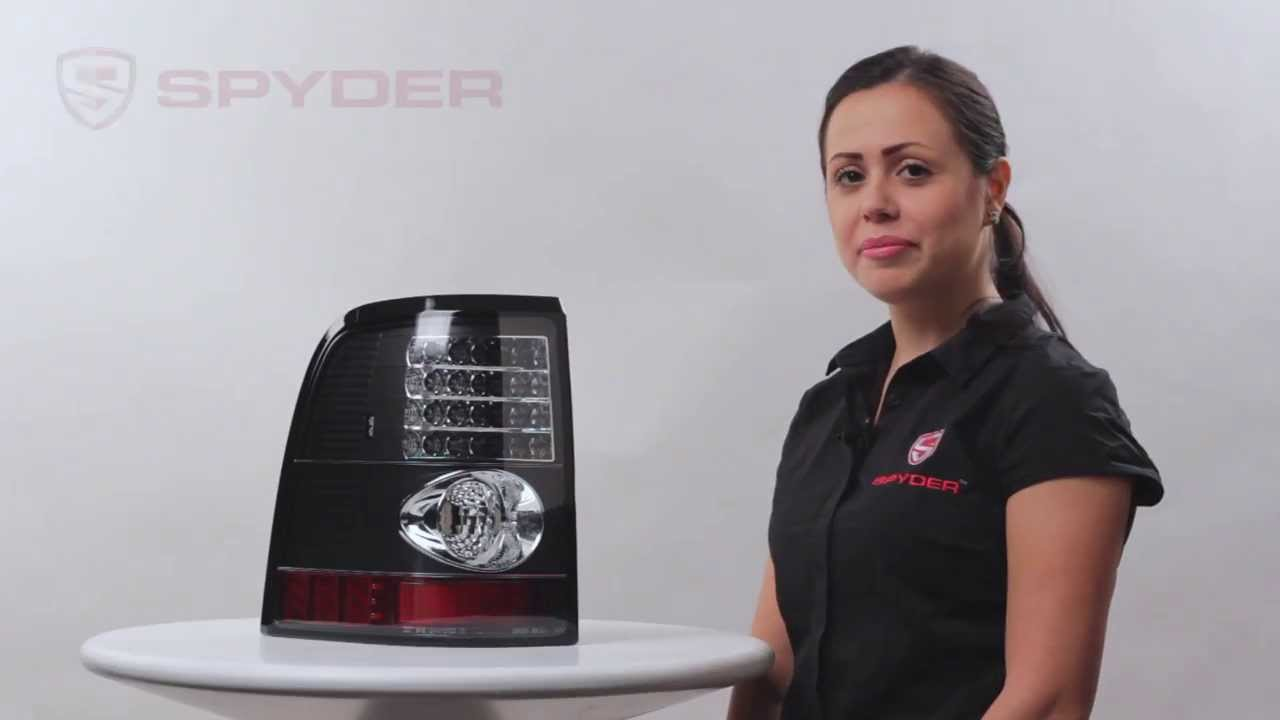 Spyder Auto Product Showcase 2002 05 Ford Explorer 4 Door Led Tail Lights