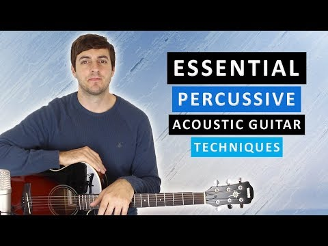 Percussive Acoustic Guitar Lesson (Adding The Snare & Bass Drum)