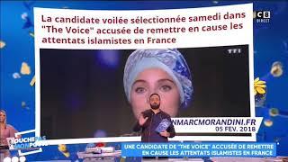 ISABELLE MORINI-BOSC DIT À PROPOS DE MENNEL QU'ELLE N'AURAIT PAS DÛ CHANTER EN ARABE !!