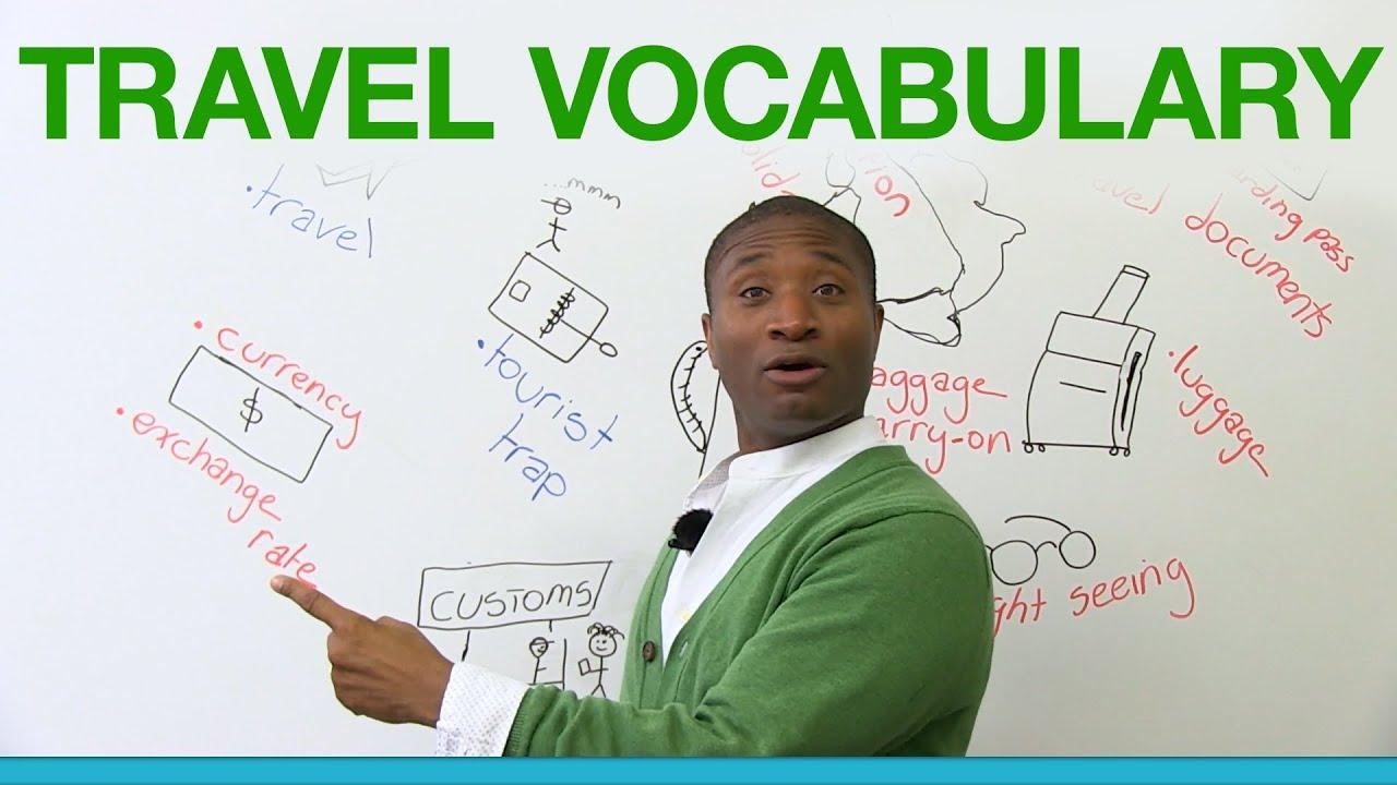 Learn English - Travel Vocabulary
