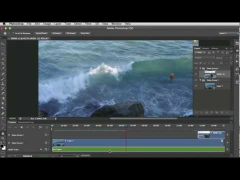 Editing video s in Photoshop CS6 part 1