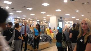 Belk Home Store, opening day, Greensboro, NC