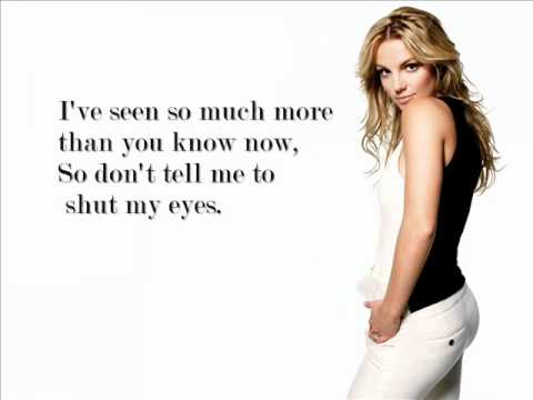 Britney Spears - I'm Not a Girl, Not Yet a Woman ...