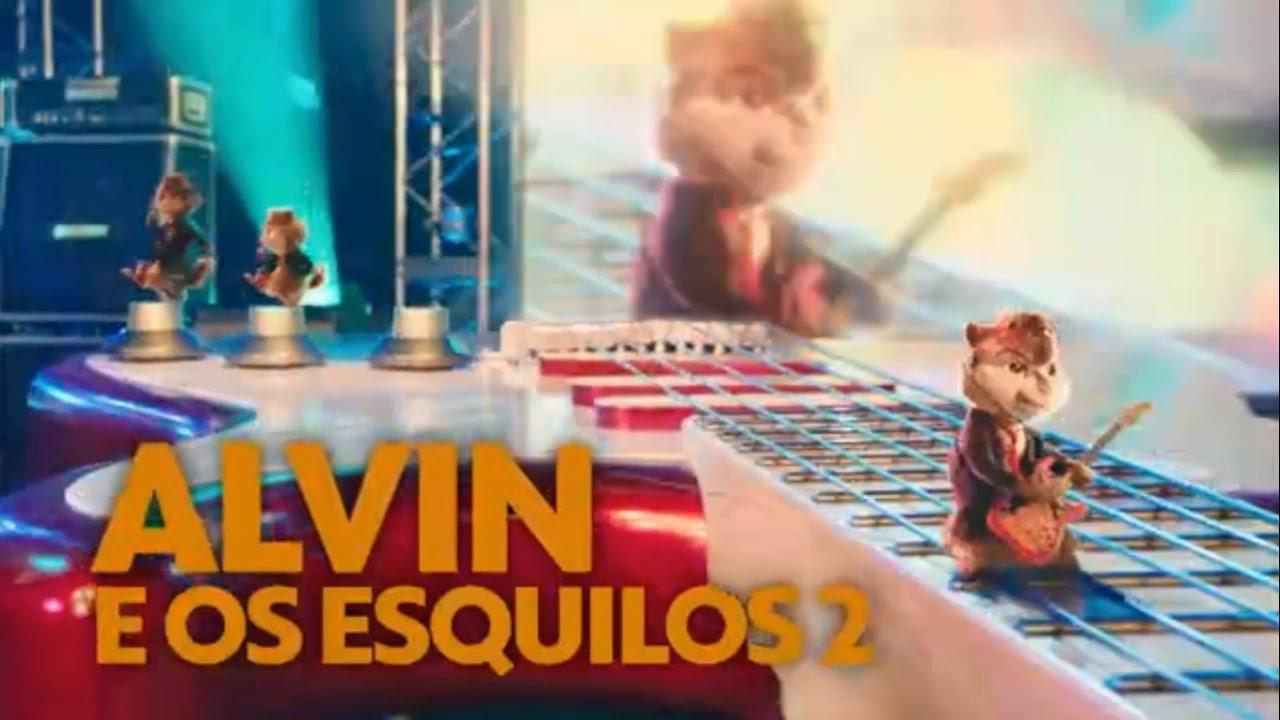 Chamada Alvin E Os Esquilos 2 Sessao Da Tarde 29 12 2016 Youtube
