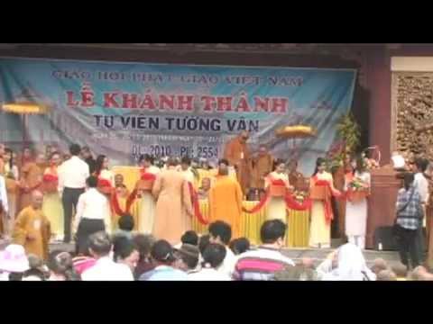 Lễ Khánh Thành Tu Viện Tường Vân (Communist Monk)