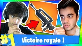 FORTNITE - THE FAMAS IS CHEAT FOR DO TOP 1! Ft. Inoxtag!