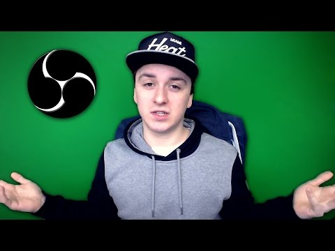 How To Setup & Use A Green Screen in Open Broadcaster Software - Tutorial #26