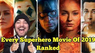 Every Superhero/Comic Book Movie Of 2019 Ranked