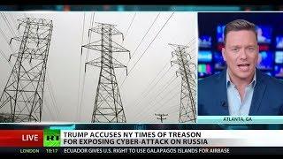 US hacks Russian power grid – report