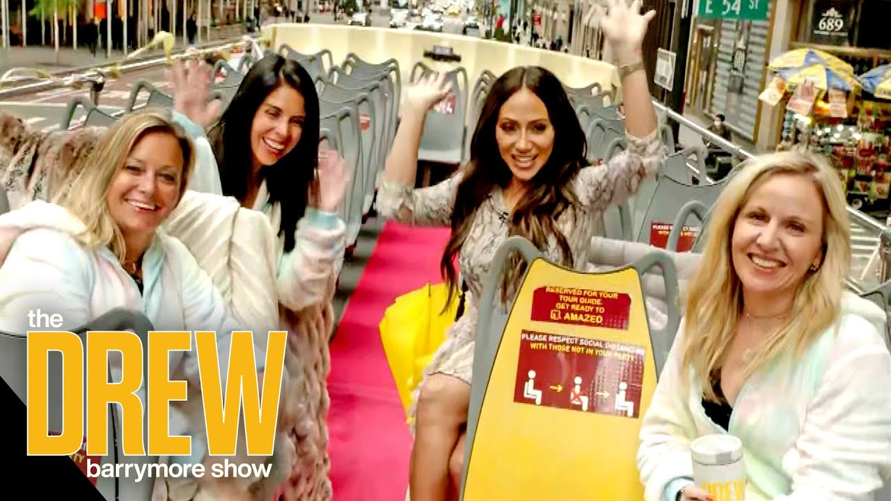 Drew Surprises Three Moms with Visit from Real Housewives' Melissa Gorga and Special Gifts