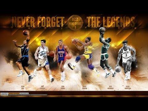 Top Ten Best Guards In NBA History