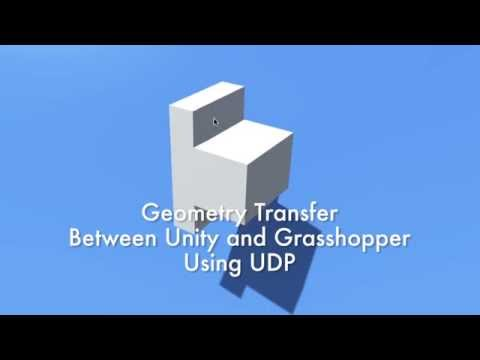 AWARE   Exchanging data between Unity and Grasshopper via UDP