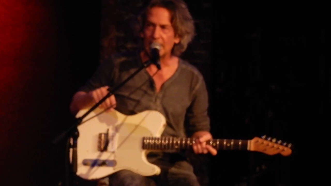 In The Dark Billy Squier & GE Smith City Winery NYC 1/9/2018