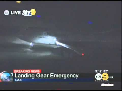 Philippine Airlines (RP-C7473) Boeing 747-400 Emergency landing at LAX
