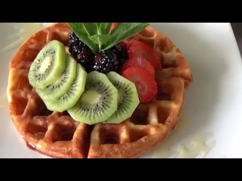 วาฟเฟิล โยเกิร์ต Waffle Yogurt