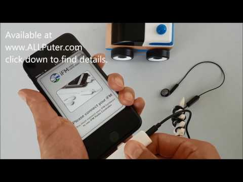 To add an FM Radio (tuner) to an iPhone 7 (or iPhone 7 plus or iPad or iPod)