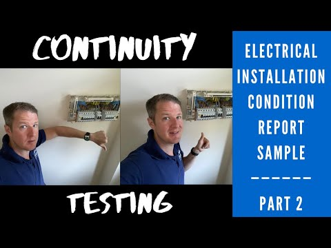Electrical Installation Condition Report Sample - Part 2