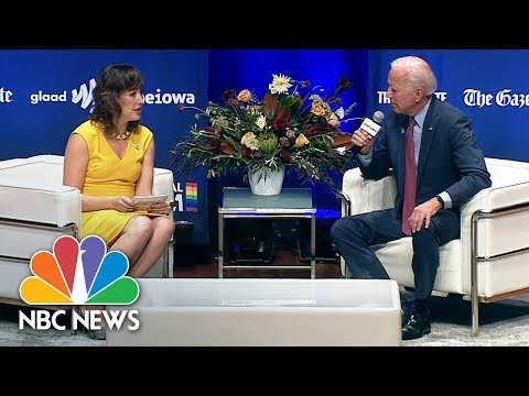 Biden: I Call Trump 'President,' 'But I Don't Think He's All That Decent' | NBC News