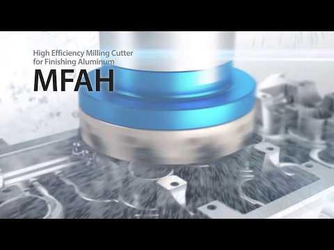 MFAH Milling Cutter for Machining Aluminum