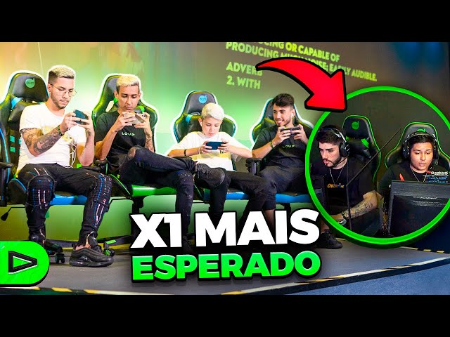 LOUD vs. NOISE NA ARENA COM SETUP INVERTIDO!! FREE FIRE