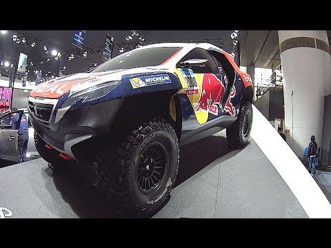 DKR Peugeot 2008, Dakar 2016, 2017