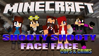 """MEATSHEILD101"" SHOOTY SHOOTY FACE FACE WITH FANS"