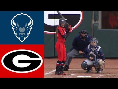 Howard Vs #17 Georgia | 2020 College Softball Highlights